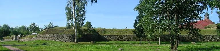 историческая крепость в Приозерске