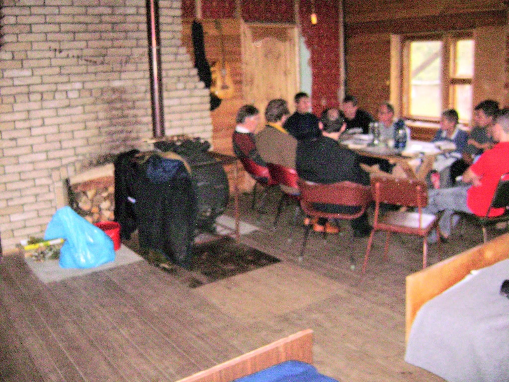 Групповое общение в центре реабилитации