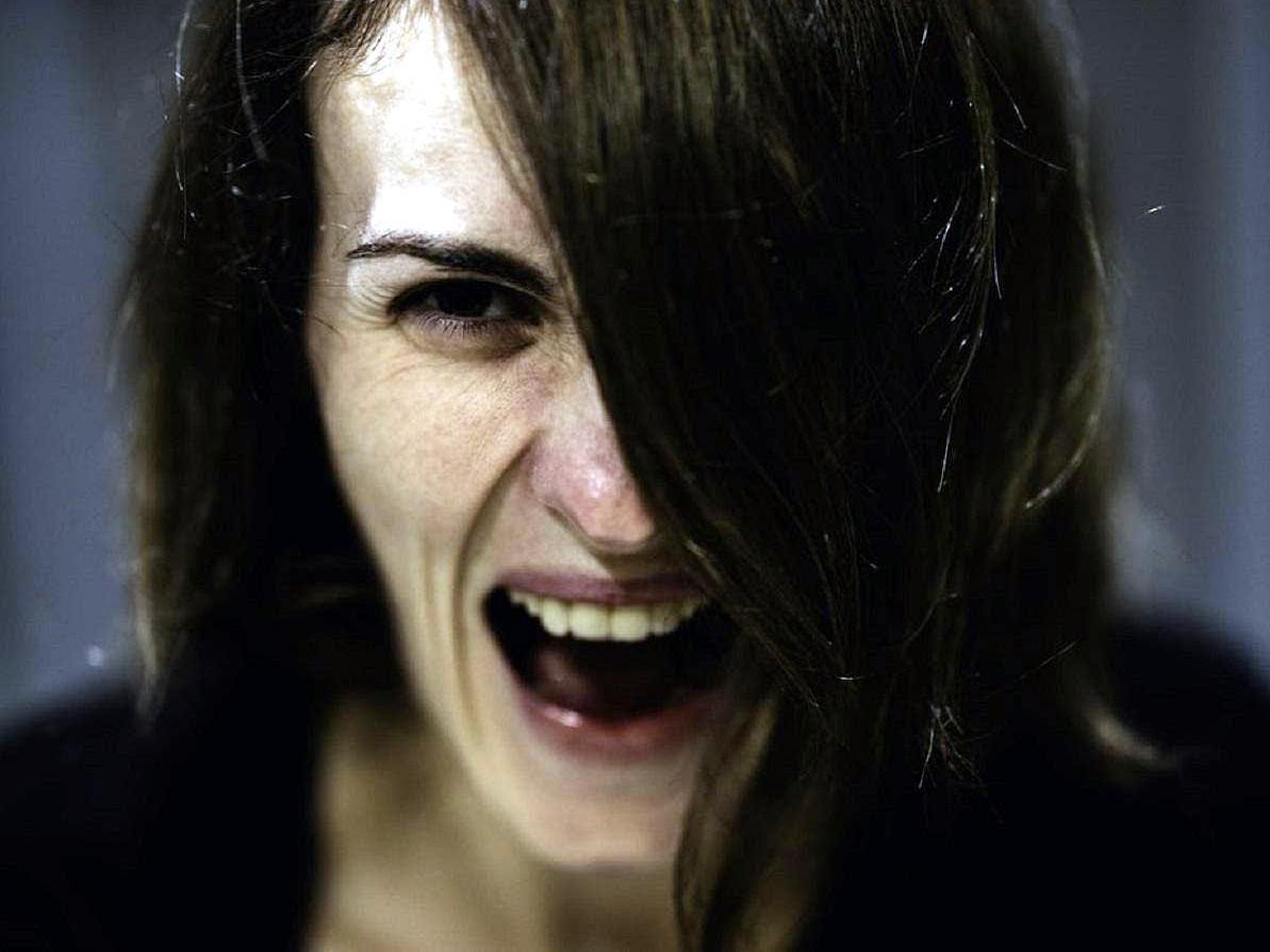 женщина, эмоциональный срыв