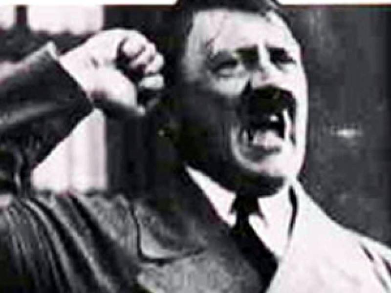 Адольф Гитлер, предположительно под метамфетамином